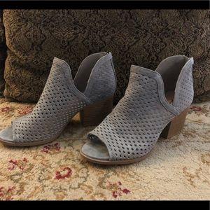 Qupid Gray booties, Size 7